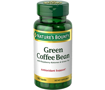 Nature's Bounty Green Coffee Bean Weight Loss Supplement Review
