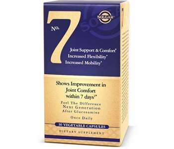 Solgar No. 7 Joint Support & Comfort Review - For Healthier and Stronger Joints