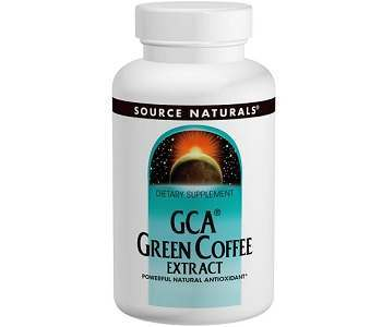 Source Naturals GCA Green Coffee Extract Weight Loss Supplement Review