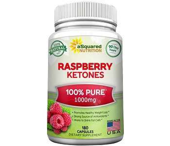 aSquared Nutrition Raspberry Ketones Weight Loss Supplement Review