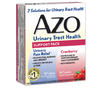 AZO Urinary Tract Health Support Pack Review - For Relief From Urinary Tract Infections