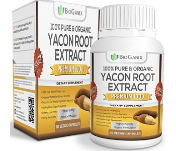 BioGanix Yacon Root Syrup Extract Weight Loss Supplement Review