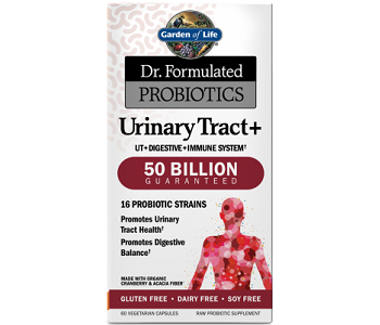 Dr. Formulated Probiotics Urinary Tract+ 50 Billion CFU Review - For Urinary Tract Infections