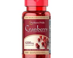 Puritan's Pride Cranberry Fruit Concentrate with C & E Review
