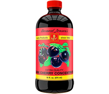 Bernard Jensen's Black Cherry Concentrate for Gout Relief