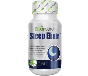 Elixir Pure Sleep Elixir Review - For Restlessness and Insomnia