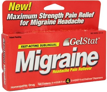 Gelstat Migraine Review - For Symptomatic Relief From Migraines