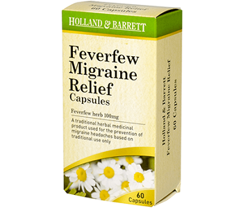 Holland & Barrett Feverfew Migraine Relief Review - For Symptomatic Relief From Migraines