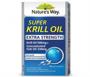 Nature's Way Krill Oil Review - For Cognitive And Cardiovascular Support
