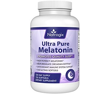 Natrogix Natural Ultra Pure Melatonin Review - For Restlessness and Insomnia