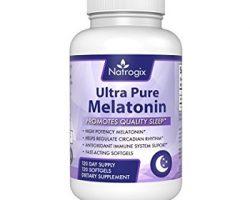 Natrogix Natural Ultra Pure Melatonin Review