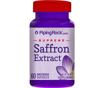 Piping Rock Saffron Extract Review - For Weight Loss and Improved Moods