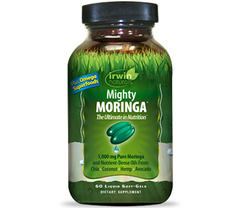 Irwin Naturals Mighty Moringa Review - For Weight Loss and Improved Moods