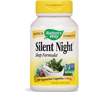 Nature's Way Silent Night Sleep Formula Review - For Restlessness and Insomnia