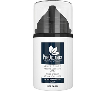 PurOrganica Scar Cream Review - For Reducing The Appearance Of Scars