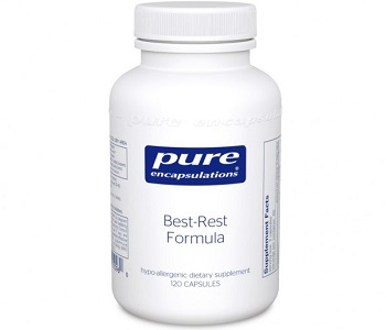 Pure Encapsulations Best-Rest Formula Review - For Restlessness and Insomnia