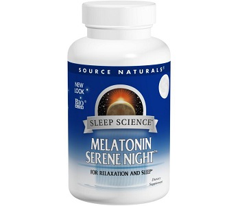 Source Naturals Sleep Science Melatonin Serene Night Review - For Restlessness and Insomnia