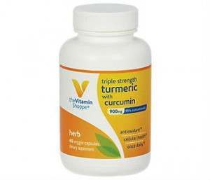The Vitamin Shoppe's Triple Strength Turmeric With Curcumin Review - For Improved Overall Health
