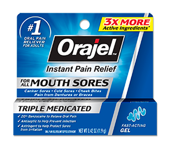 Orajel Mouth Sore Gel Review - For Relief From Mouth Ulcers And Canker Sores