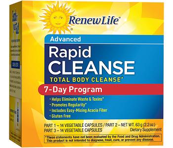 RenewLife Rapid Cleanse Review - 7 Day Detox Plan