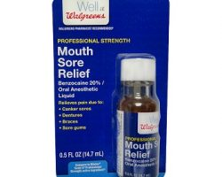 Walgreens Instant Mouth Sore Relief Liquid Review