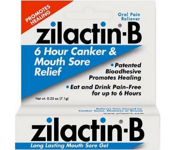 Zilactin-B Long Lasting Mouth Sore Gel Review - For Relief From Canker Sores