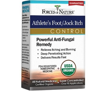 Forces of Nature Athlete's Foot Control Review - For Reducing Symptoms Associated With Athletes Foot