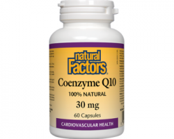 Natural Factors Coenzyme Q10 Review