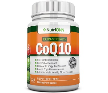 NutriONN Extra Strength CoQ10 Review - For Cognitive And Cardiovascular Support