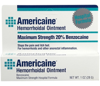 Americaine Hemorrhoidal Ointment Review - For Relief From Hemorrhoids