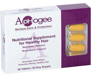 Aphogee Nutritional Supplement For Healthy Hair Review - For Dull And Thinning Hair