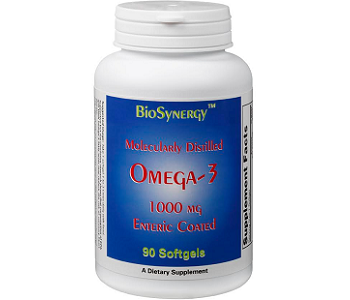 Bio Synergy Molecularly Distilled Omega-3 Review - For Improved Overall Health