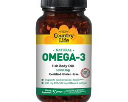 Country Life Omega-3 Fish Oil Review
