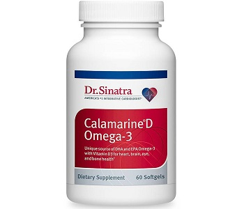 Dr Sinatra Calamarine D Omega-3 Review - For Cognitive And Cardiovascular Support