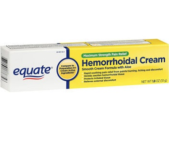 Equate Hemorrhoidal Cream Review - For Relief From Hemorrhoids