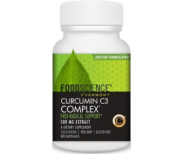 Food Science of Vermont Curcumin C3 Complex Review - For Improved Overall Health