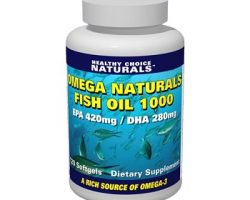 Healthy Choice Naturals Omega Naturals Fish Oil 1000 Review