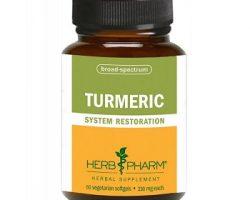 Herb-Pharm Turmeric Review