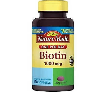 Nature Made Biotin Review - For Hair Loss, Brittle Nails and Problematic Skin