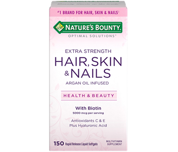 Nature's Bounty Extra Strength Hair, Skin, And Nails Review - For Weak Hair, Nails and Poor Skin