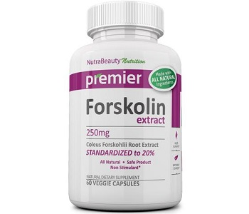 Nutra Beauty Nutrition Forskolin Extract Weight Loss Supplement Review