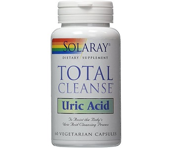 Solaray Total Cleanse Uric Acid Review - For Relief From Gout