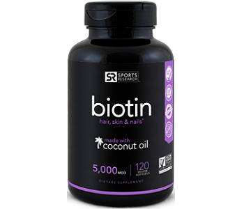 Sports Research Biotin Review - For Hair Loss, Brittle Nails and Problematic Skin