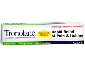 Tronolane Review - For Relief From Hemorrhoids