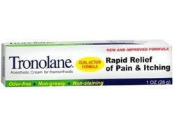 Tronolane Anesthetic Cream For Hemorrhoids Review