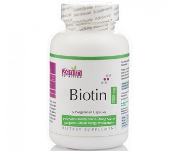 Zenith Nutrition Biotin Review - For Hair loss, Brittle Nails And Unhealthy Skin