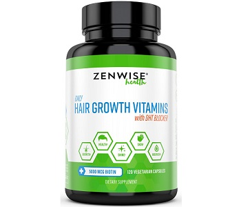 Zenwise Health Hair Growth Vitamins Review - For Hairloss