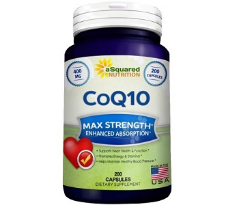 aSquared Nutrition CoQ10 Review - For Cognitive And Cardiovascular Support