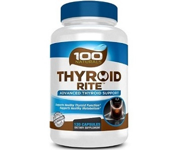 100 Natural Thyroid Rite Review - For Increased Thyroid Support
