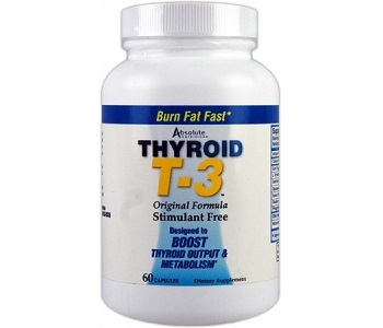 Absolute Nutrition Thyroid T-3 Review - For Increased Thyroid Support